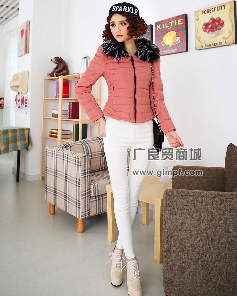 时尚新款冬季棉服批发