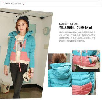 厂家直销2014冬季新款韩版休闲加厚修身女装批发