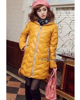 时尚冬季韩版羽绒服批发