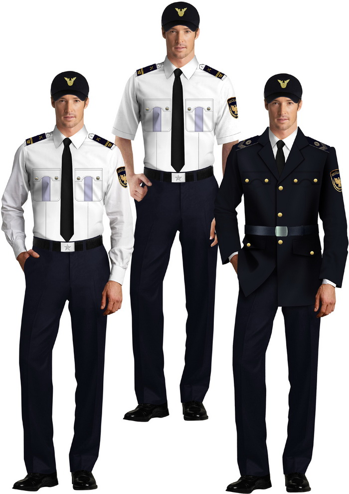 上海加厚保安服外套定做