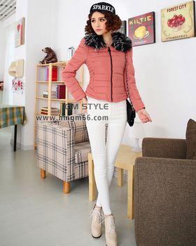 时尚冬装保暖棉衣服装批发