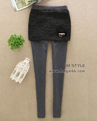 冬季新款加厚绒女裤批发