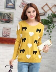 冬季最流行韩版女装毛衣外套批发厂家直销
