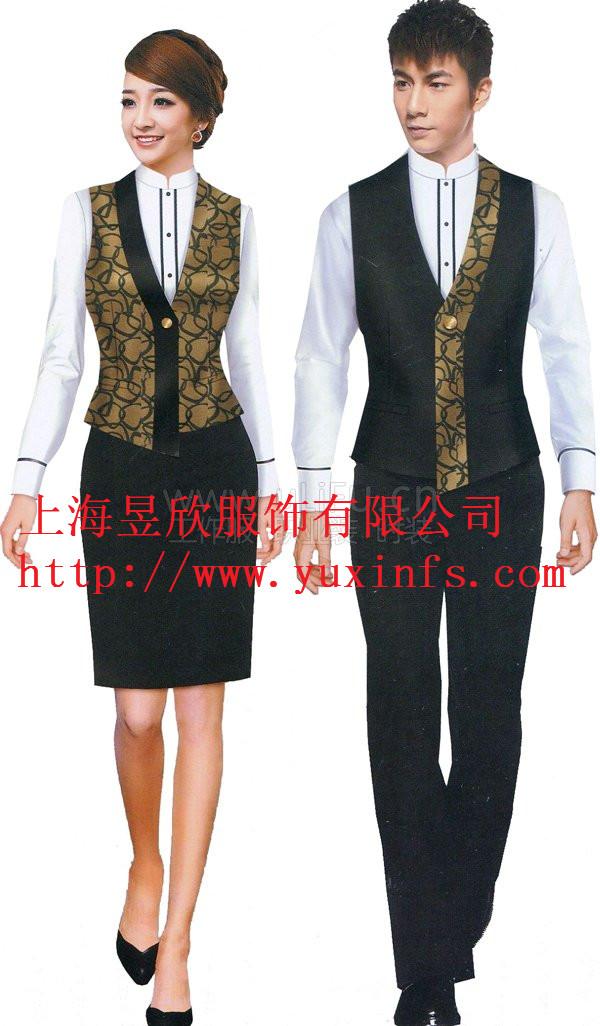 上海酒店服务员服装定做
