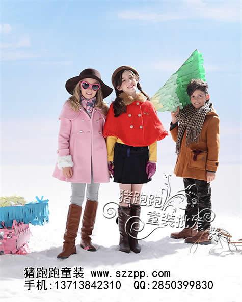 上海猪跑跑童装品牌批发