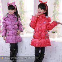 广州最便宜时尚童装加厚棉衣批发