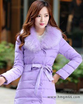 杭州时尚韩版羽绒服冬季女装批发