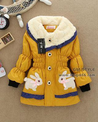 冬季新款时尚儿童棉服批发
