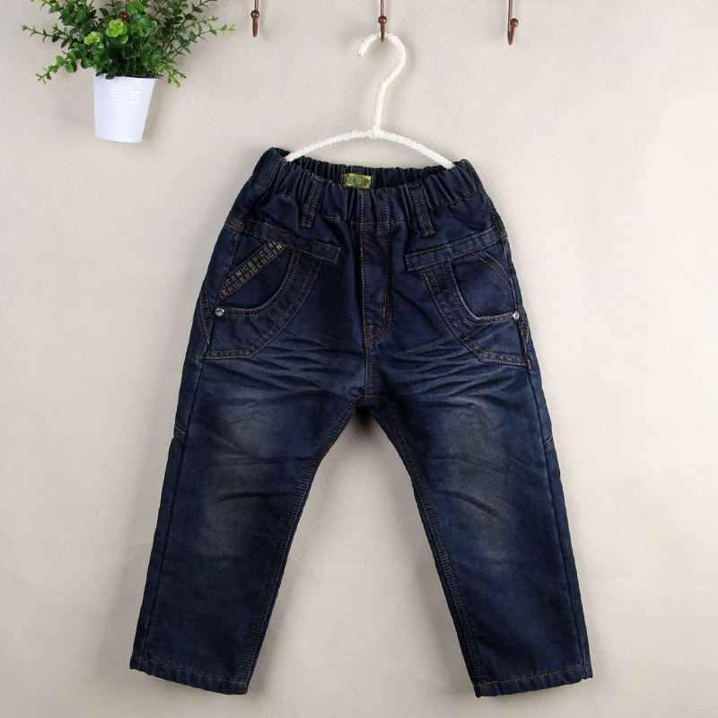 【图图】 系列儿童冬款加绒加棉长裤批发