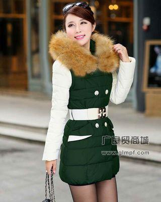 冬季时尚女款羽绒服批发