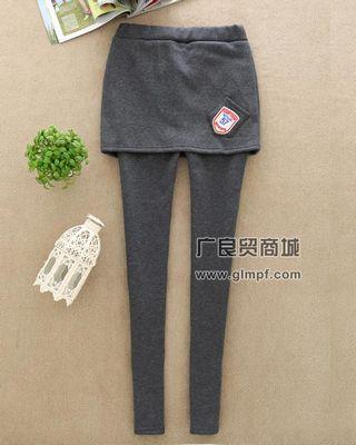 冬季韩版加厚绒保暖女裤批发