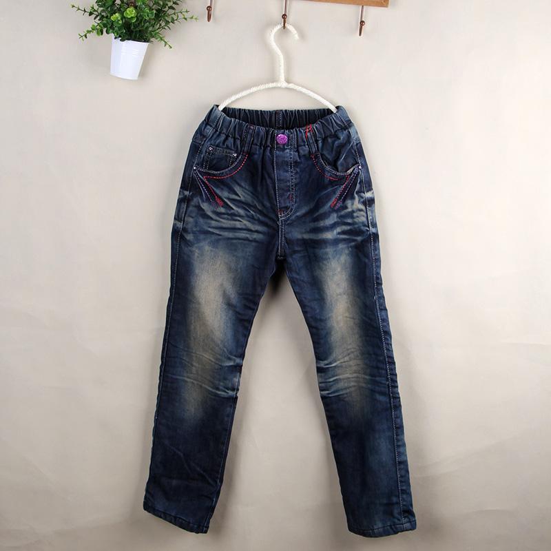 冬款品牌童装牛仔裤长裤批发