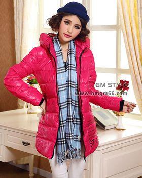 冬季新款羽绒服大衣外套保暖上衣批发