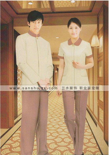 郑州酒店工作服定做