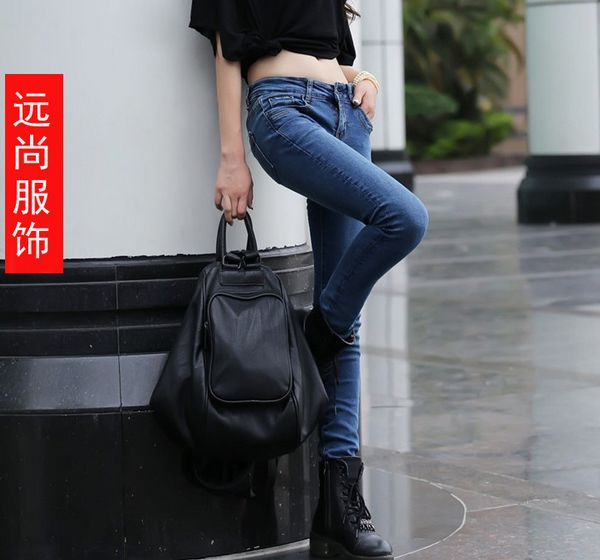 华盛顿最便宜的外贸时装深色休闲裤牛仔裤批发