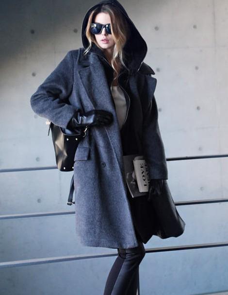 厂家低价秋冬女装羊毛大衣批发