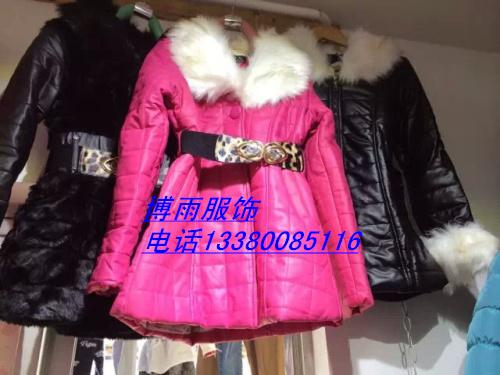 清仓中长款皮衣外套十三行低价女装皮衣尾货批发