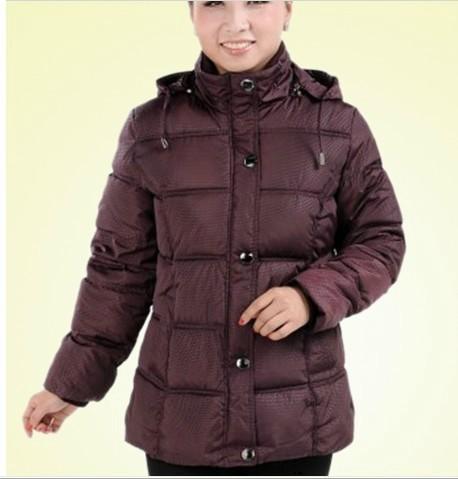 广州沙河秋冬装加厚加绒中老年棉服服装批发