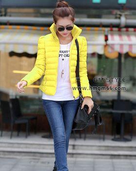 韩版时尚冬装棉衣大衣批发市场