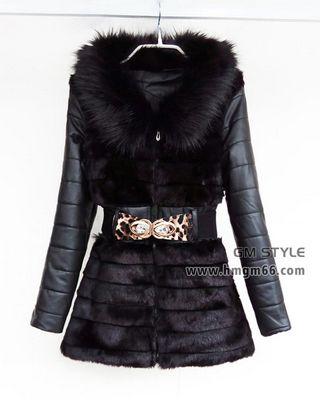 韩版冬装外套上衣大衣潮流女士外套棉服批发