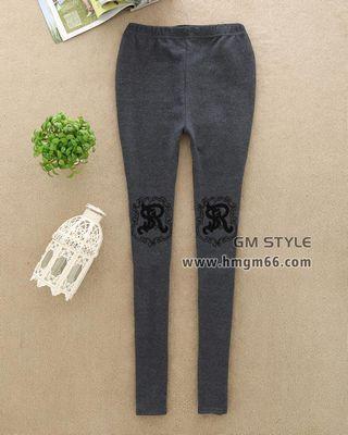 时尚韩版两件保暖美腿裤不倒绒打底裤包臀裤批发