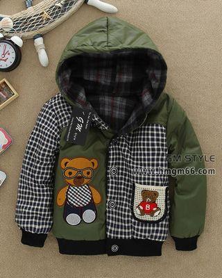 冬款儿童棉衣棉袄韩版加厚女童棉衣外套批发