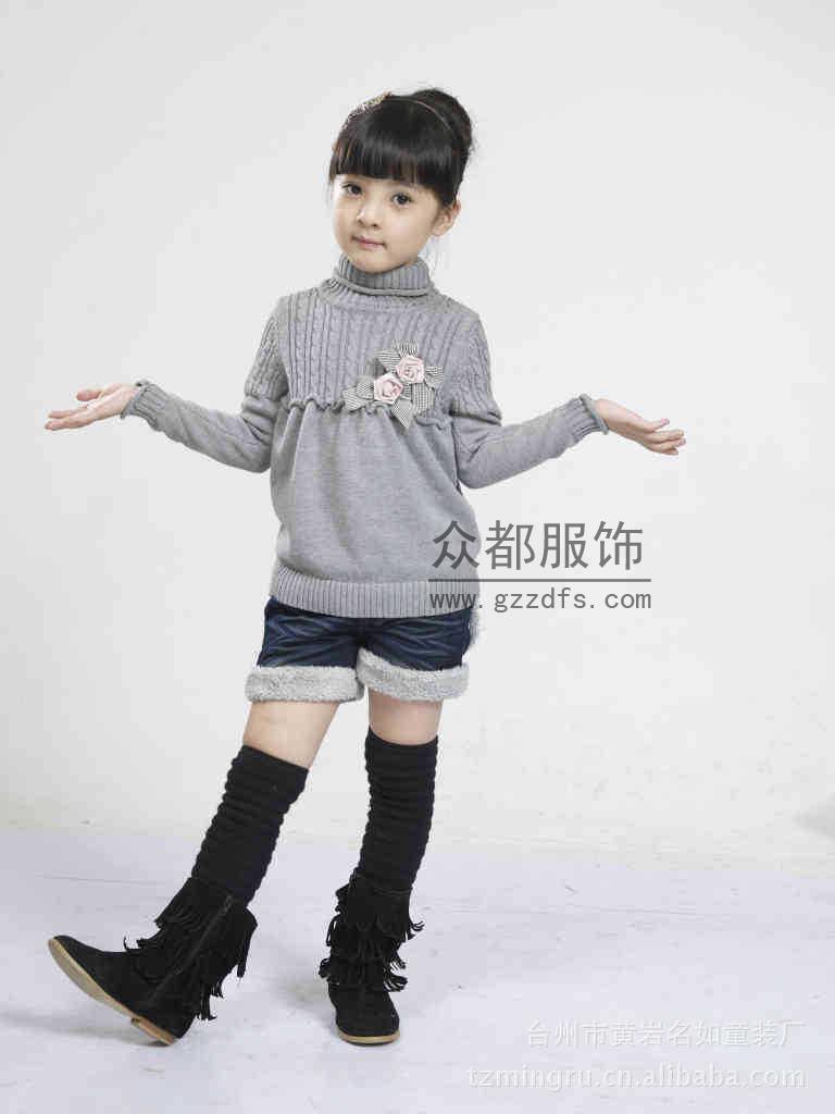 郑州漯河便宜秋冬装时尚童装毛衣批发