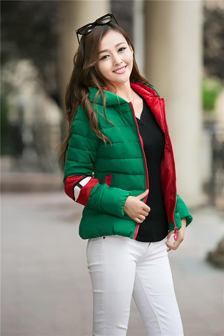 上海七浦路最新款潮流女装棉衣羽绒外套批发