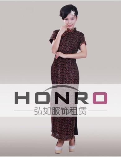 老上海杨浦区中式旗袍演出服租借