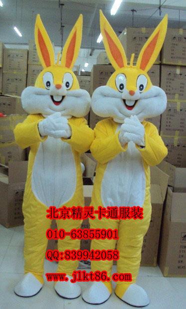 供应北京精灵卡通服装辽宁卡通服饰兔八哥