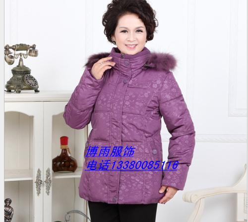 清仓中老年棉衣外套