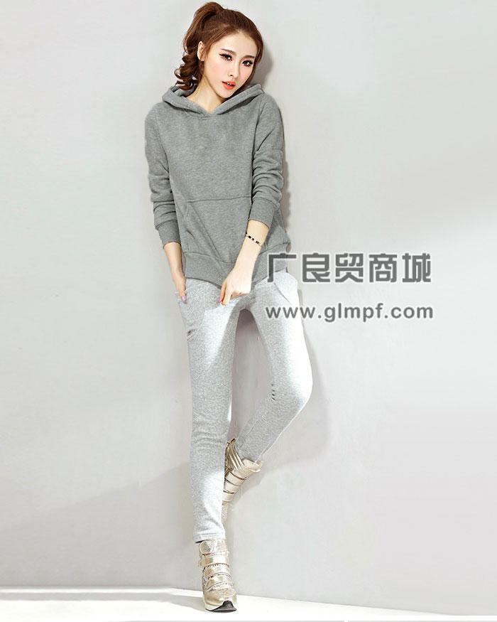 潮流便宜女装秋冬装帽衫韩版长袖卫衣批发