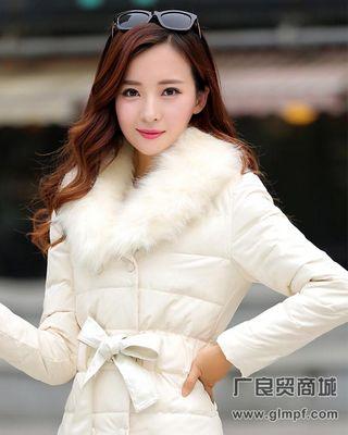 苏州常熟新款时尚加长款羽绒服