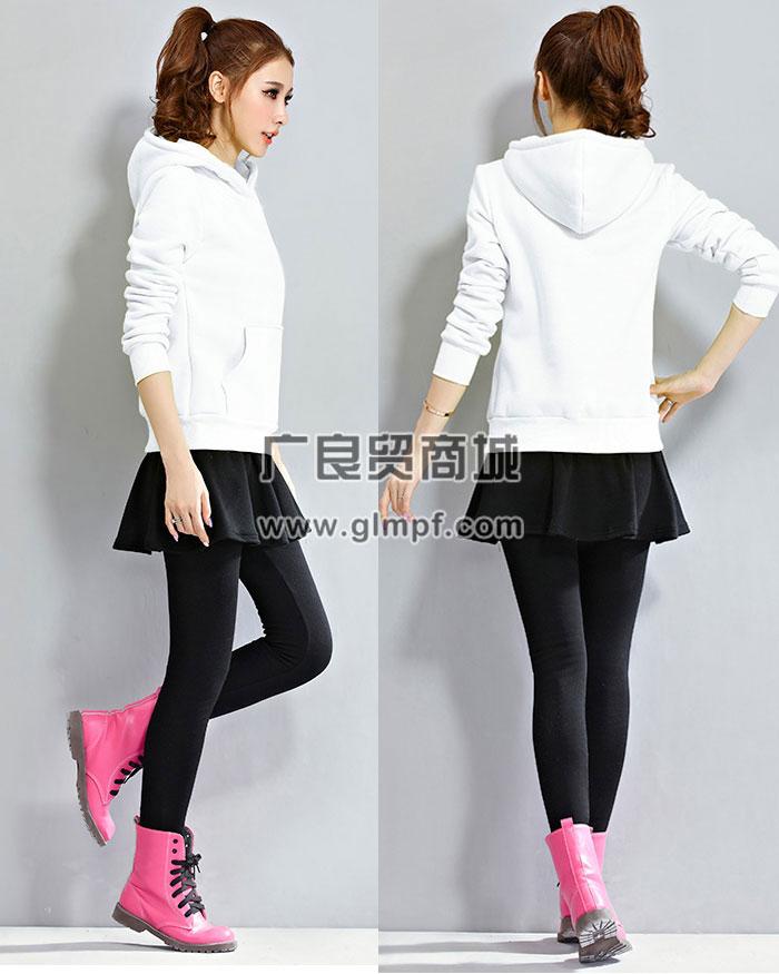 街头流行韩版拉绒纯棉卫衣衫批