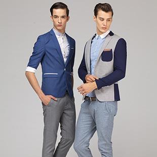 都市简约 时尚男装 第二印象