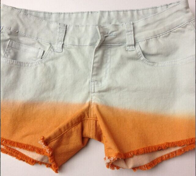 提供短裤吊染加工