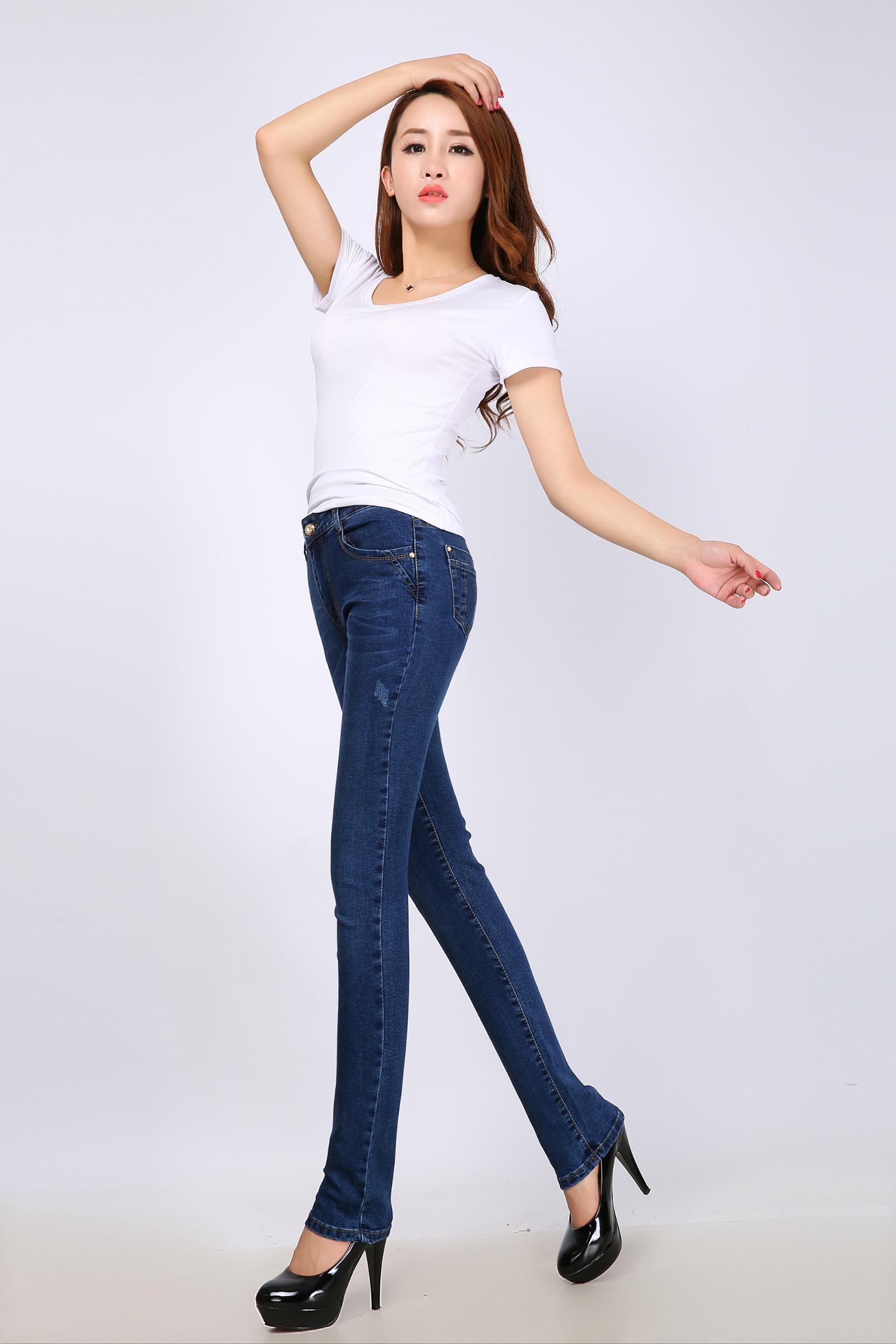 2014新款牛仔裤批发