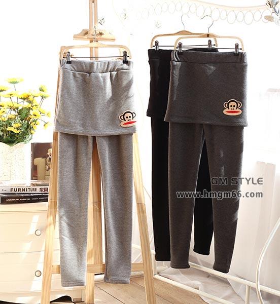 女裤新款长裤加厚保暖裤批发
