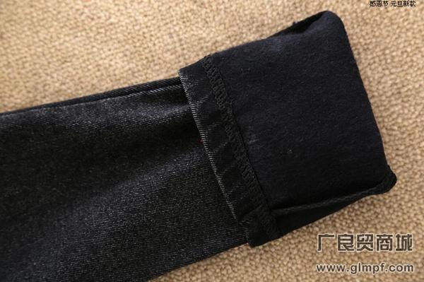 冬季新款加厚绒女裤不倒绒包臀裤打底裤批发
