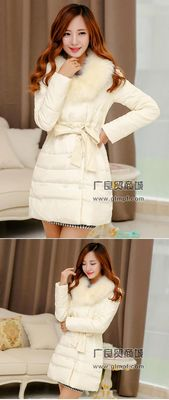 女款时尚冬季羽绒服批发