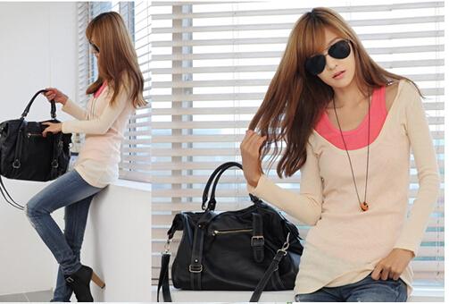 厂家直供韩版女装打底衫优质货源价格实惠