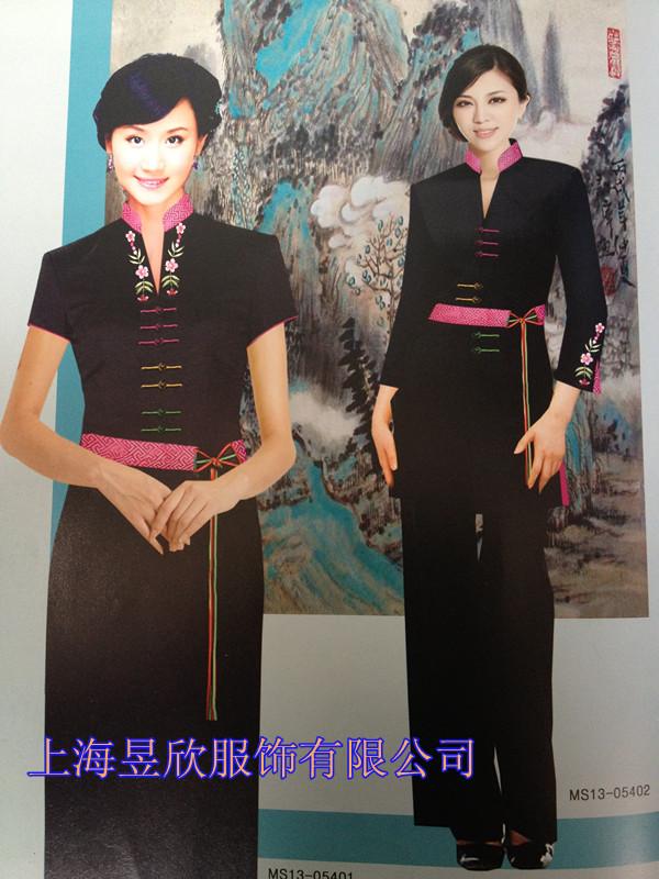 上海定做酒店工作服服务员服装