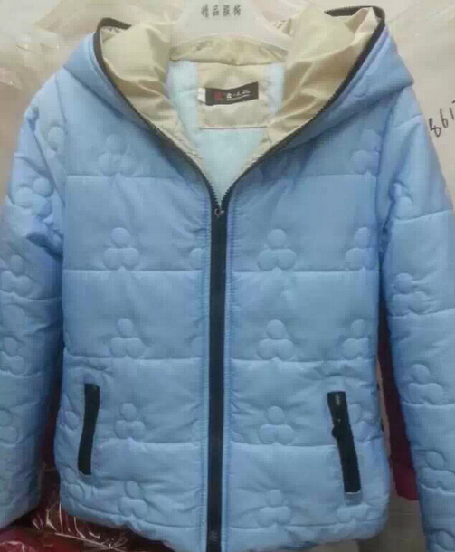 广州沙河时尚冬装新款韩版棉衣加厚童装外套加绒打底衫尾货清仓批发