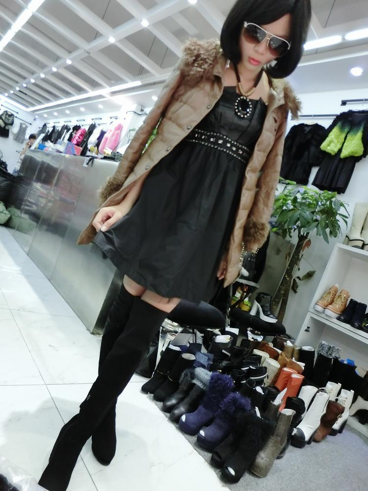 东北欧洲站装市场最便宜的品牌女装批发