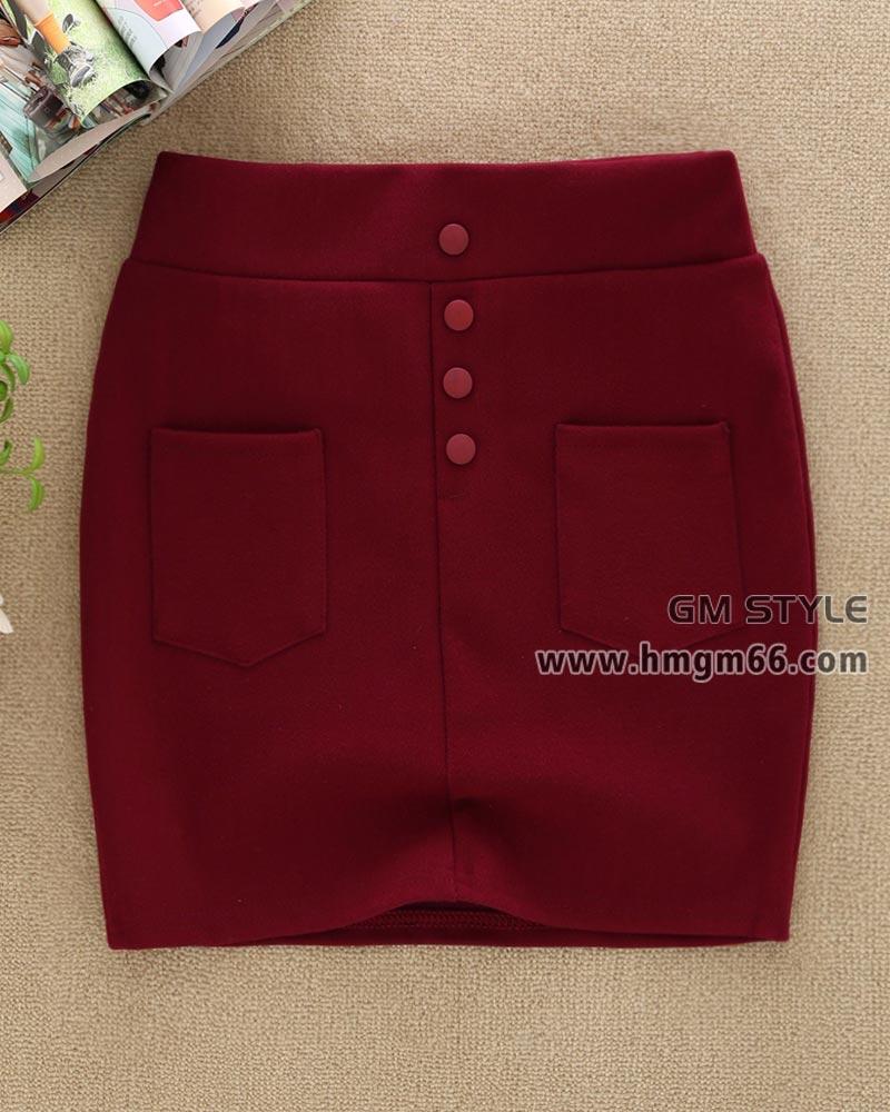 2014冬季新款女装韩版修身打底裙厂家直销