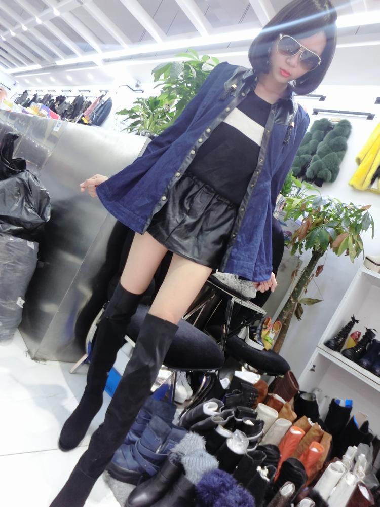 壹家欧洲站2014正品外贸时尚冬季新款女装大量批发