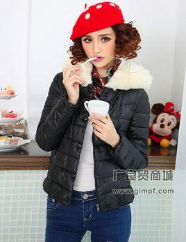 东门时尚新款棉袄热销冬季羽绒服批发