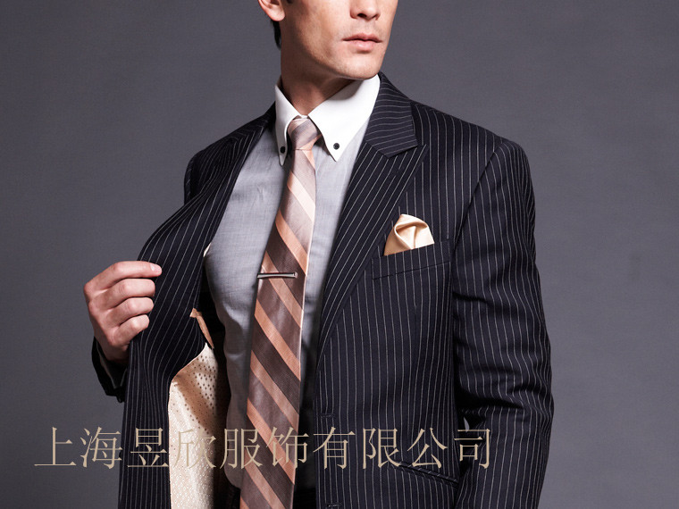 上海男式修身西服订做