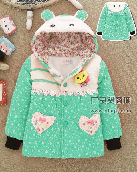冬季儿童保暖棉衣批发厂家直销