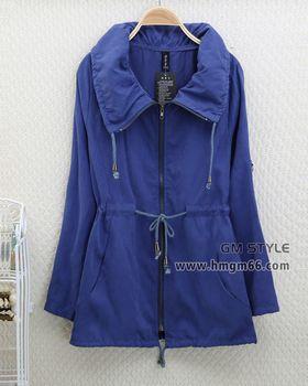 时尚冬季女风衣外套批发厂家直销